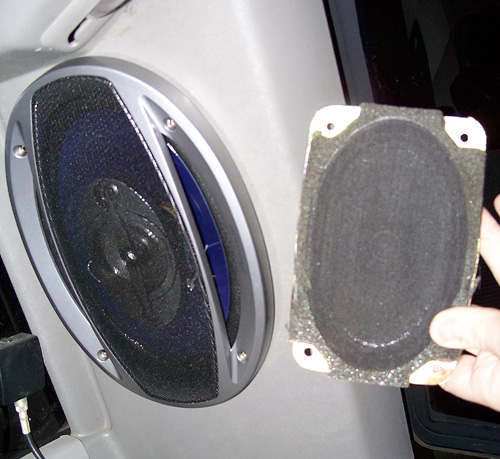 6x9 Rear Speaker Install Gm Truck Central